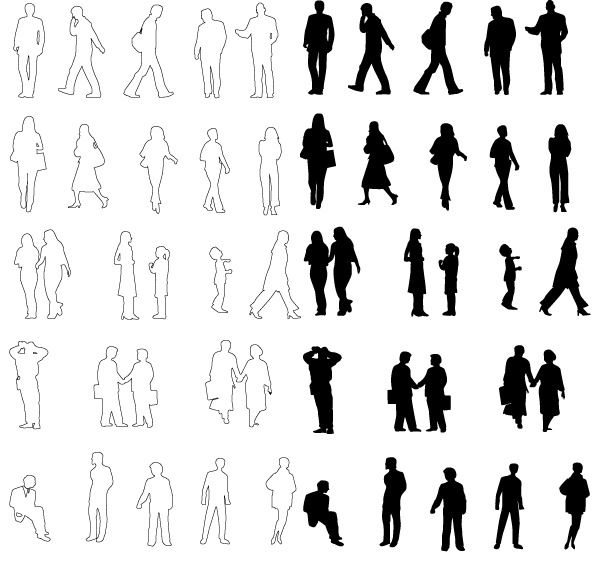 600x565 93 Best Silhouette Images On Silhouette, Human Figures