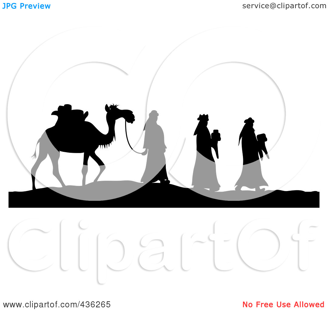 1080x1024 Gifts Silhouette Scene Clipart