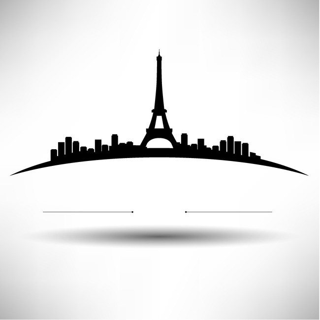 650x650 Paris Simple Black Background Scenery, Simple, Black, Paris