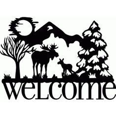 236x236 stencil moose