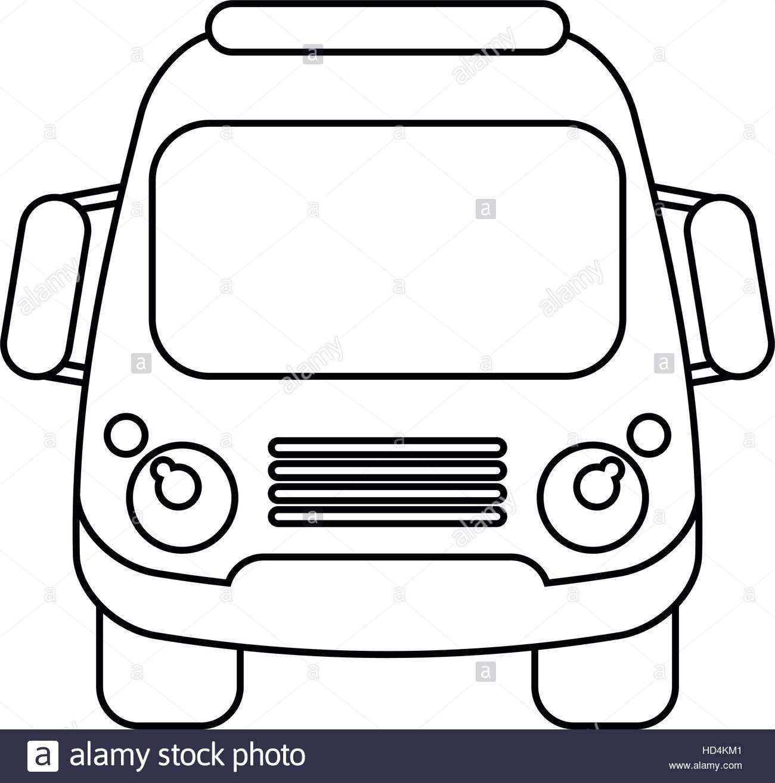 1300x1315 Silhouette School Bus Student Transport Stock Photos Amp Silhouette