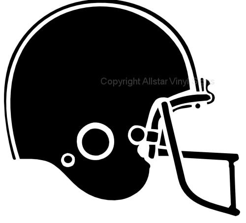 500x454 Football Helmet Silhouette