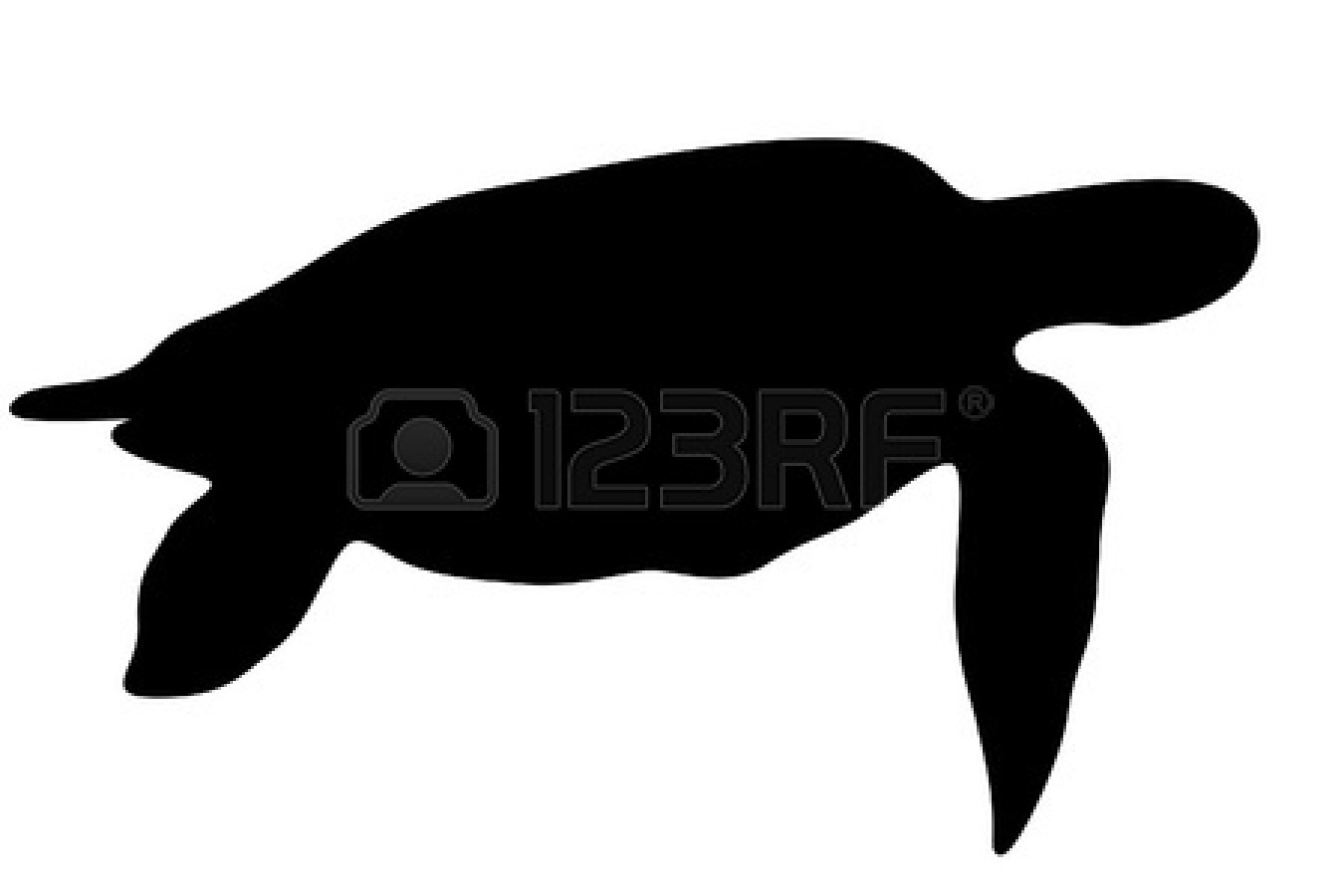 1350x900 Sea Turtle Silhouette Clip Art 43 Striking Silhouettes