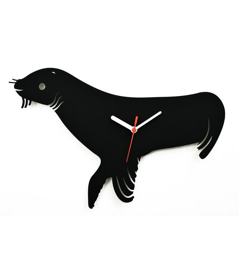 800x880 Buy Osaree Black Acrylic 12 X 10.7 Inch Seal Fish Silhouette