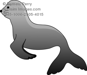 300x258 Clip Art Image Of A Silhouette Clipart Panda