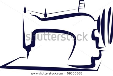 450x302 Sewing Machine Vector Silhouette Mydrlynx