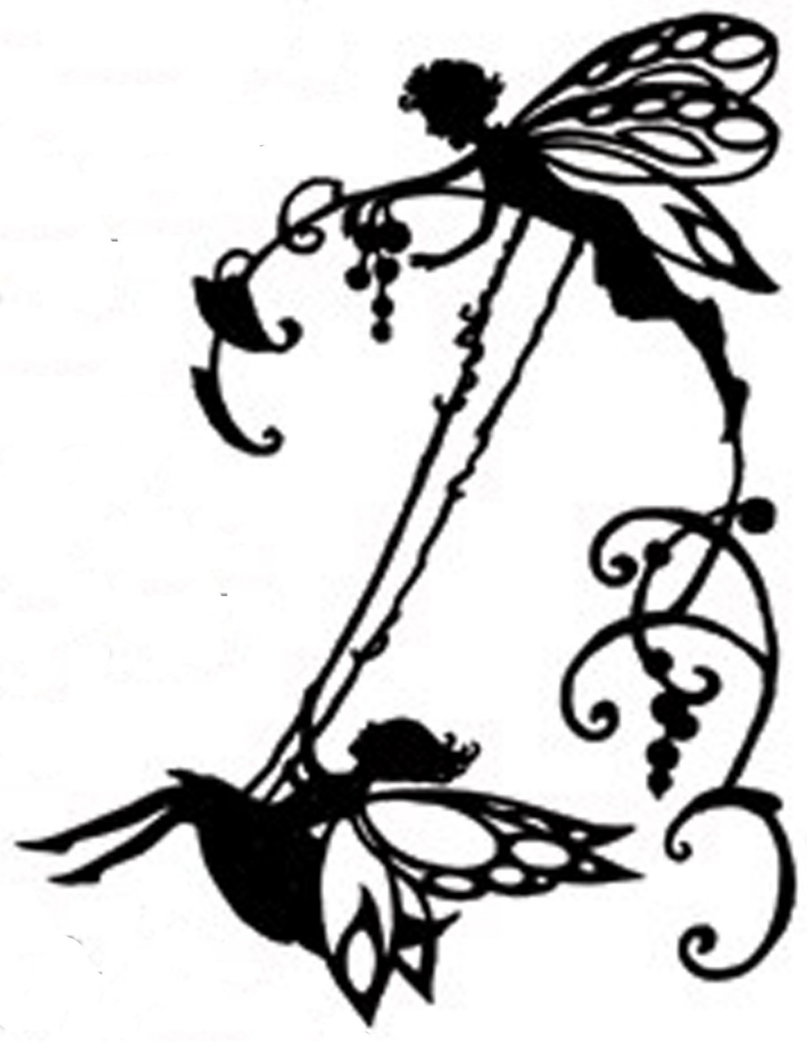 1159x1500 Fairy On Swing Silhouette Handmade Cross Stitch Pattern Swings