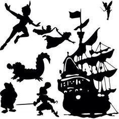 236x236 Peter Pan Papercut In Shadow Box