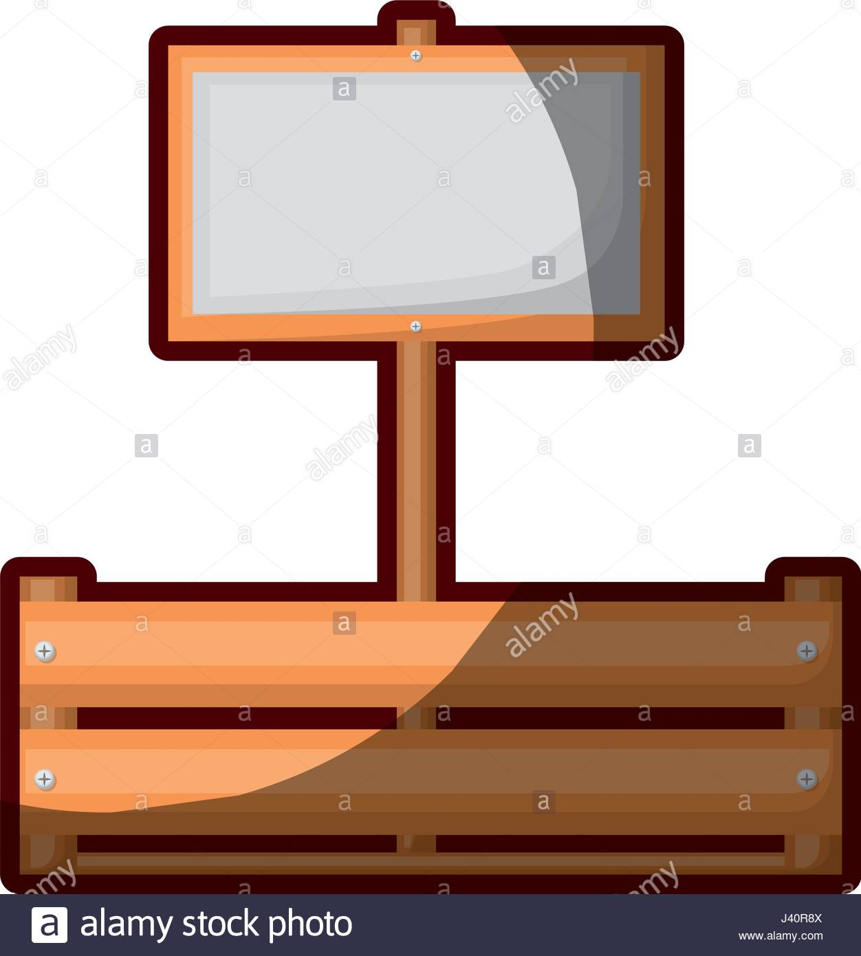 1252x1390 Colorful Silhouette Of Wooden Box With Banner And Half Shadow