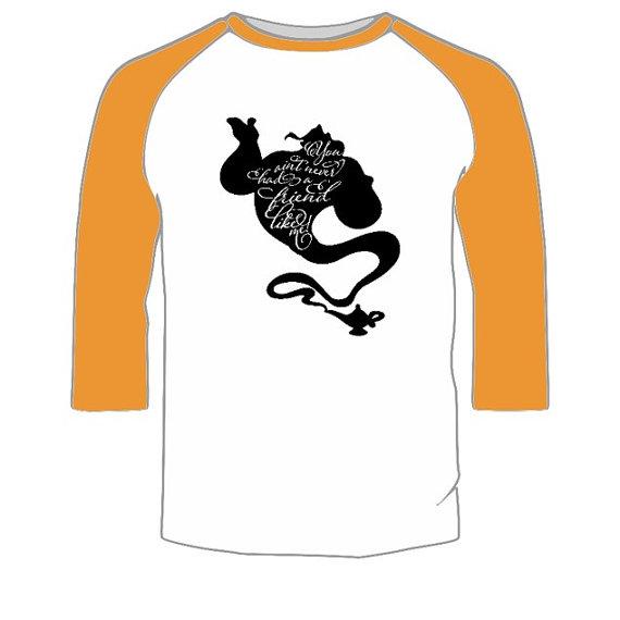 570x570 Disney Shirt Genie From Aladdin Silhouette Silhouette Disney