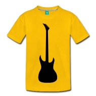 190x190 Guitar Silhouette T Shirt Spreadshirt