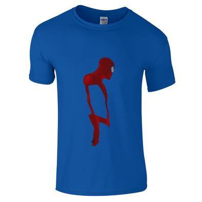 394x394 Spiderman Silhouette T Shirt Innerhero.co.uk