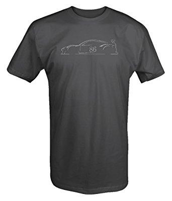 342x400 Subaru Brz Toyota Ft86 Racing Silhouette T Shirt Clothing