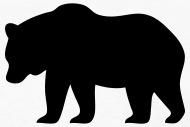 190x127 Bear Silhouette By Azza1070 Spreadshirt