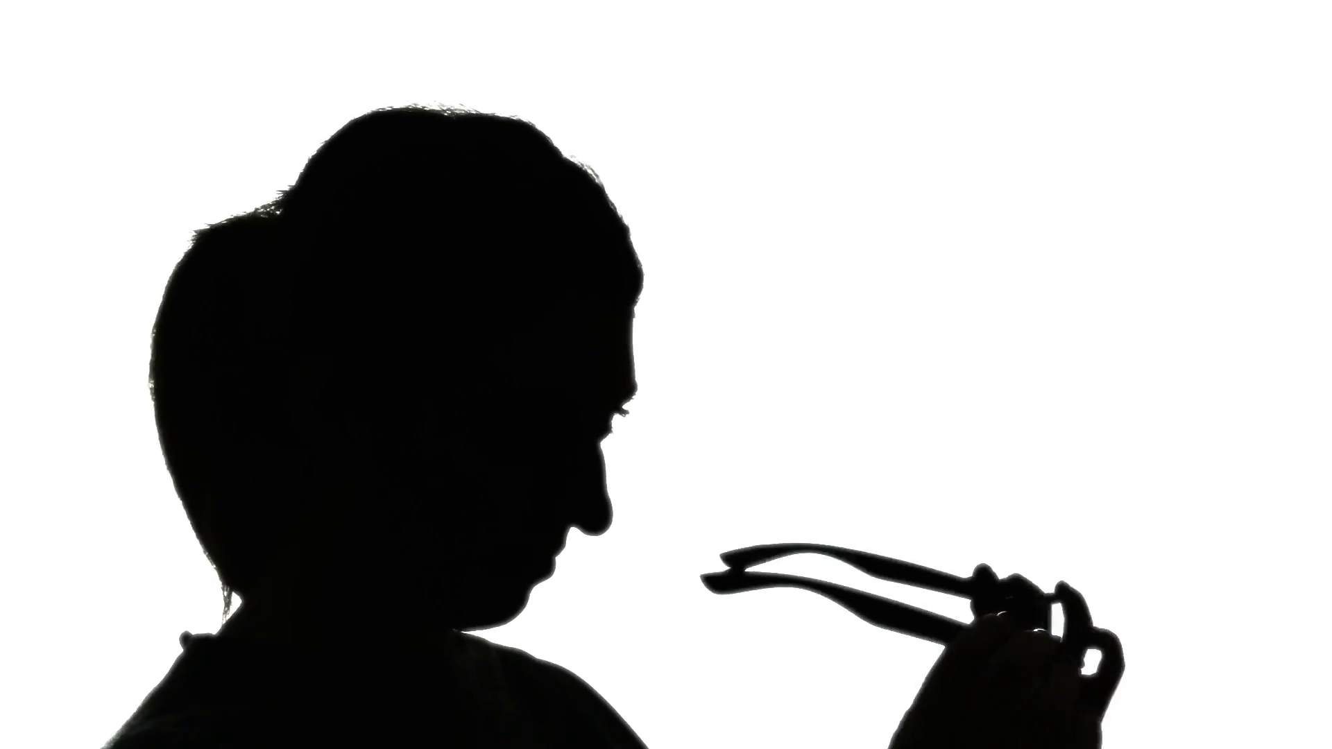 1920x1080 Silhouette Woman Wearing Glasses 3. Silhouette Shot Of A Woman