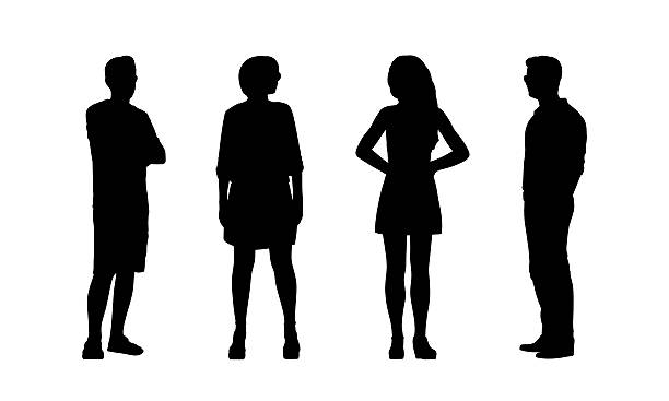 612x367 Clipart Person Silhouette Side Collection