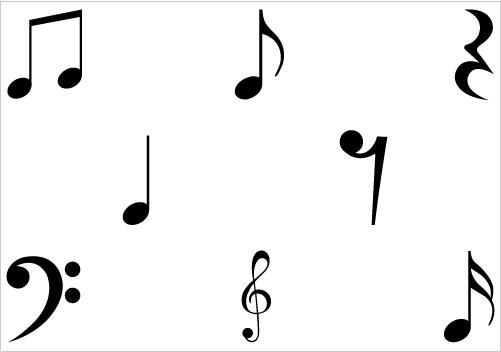 501x352 Singer Clipart Music Symbol