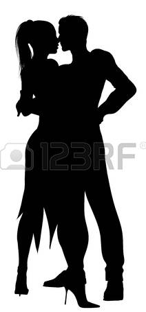 212x450 Silhouette Of Couple Dancing With Passion Photo Couple Globe