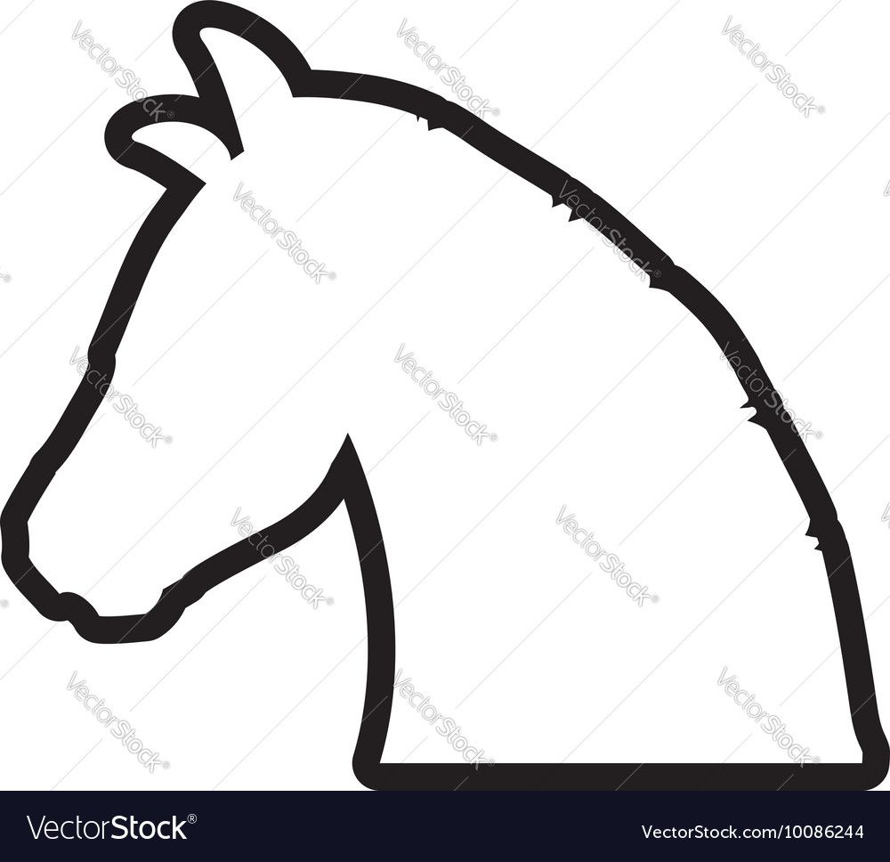 1000x968 Image Result For Simple Cartoon Silhouettes Sketches Horse