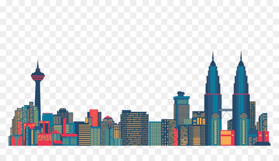 900x520 Kuala Lumpur Tower Silhouette Skyline