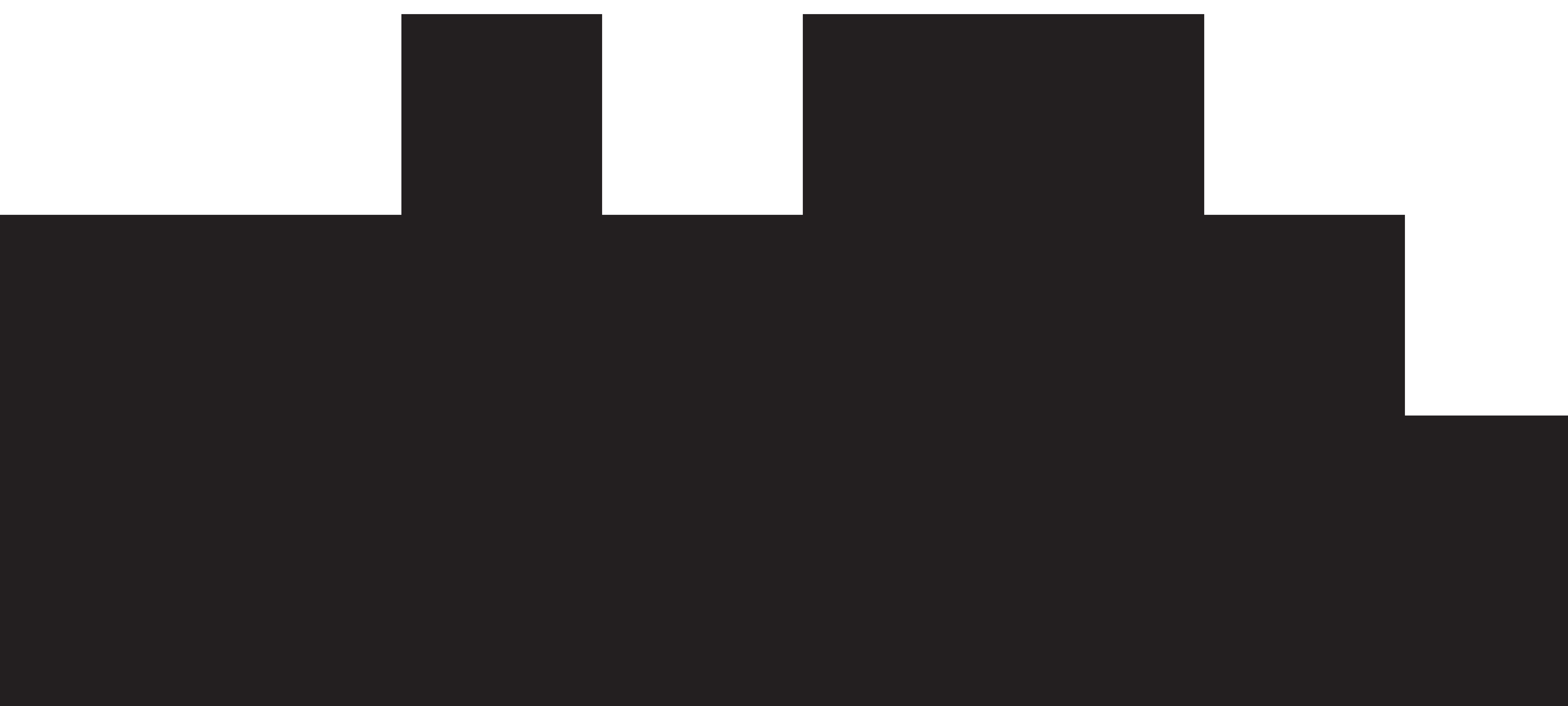 8000x3602 Skyline Clipart Transparent