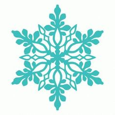 236x236 Free Snowflake Digital Cut Files Sillouette Filing