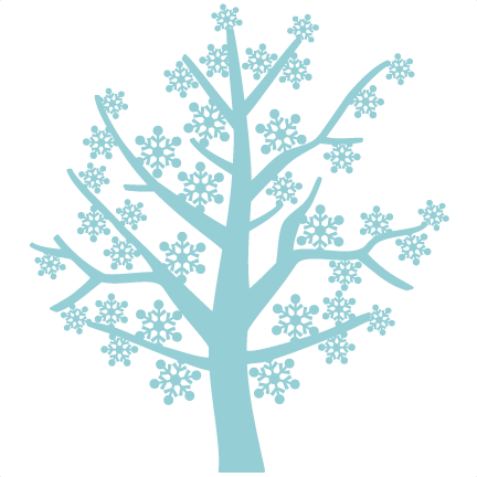 432x432 Snowflake Tree Miss Kate Cuttables Cricut, Filing