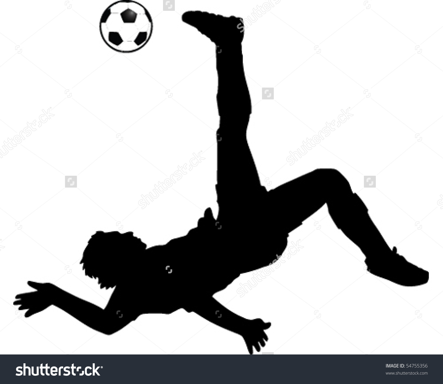 1500x1300 Soccer Clipart Bicycle Kick
