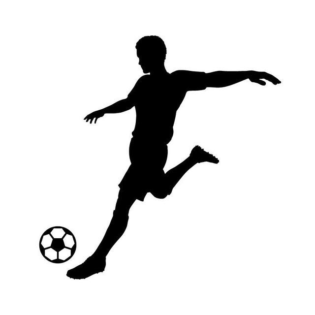 Silhouette Soccer Ball