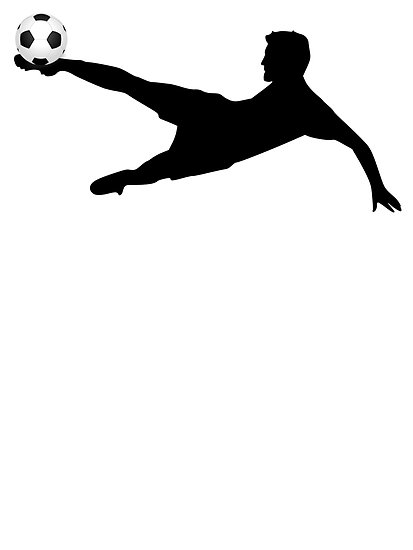 413x550 Soccer Player Silhouette By Clipart Panda