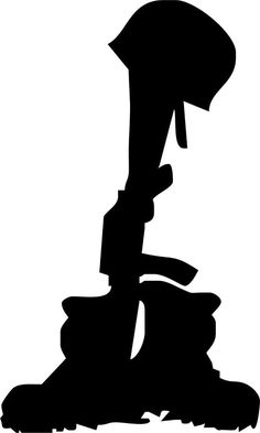 236x393 Military Silhouettes Free Graphics Clipart 12368 Soldier Salute