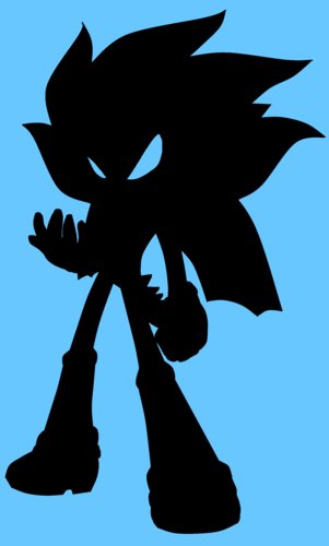 301x500 Sonic Fan Characters Images Algore Silhouette Hd Wallpaper