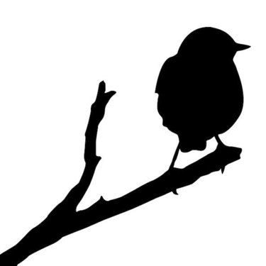 Silhouette Sparrow