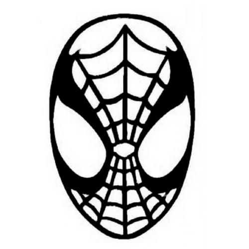 500x500 Spiderman Die Cut Vinyl Decal Pv1115 Vinyl