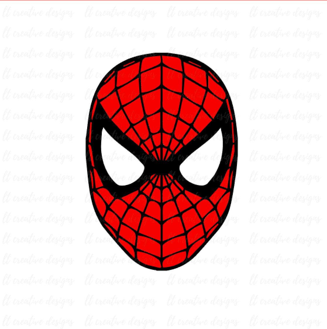 1118x1124 Spiderman Svg Spiderman Face Svg Silhouette Cut Files