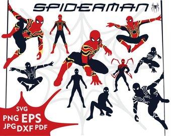 340x270 Spiderman Silhouette Etsy