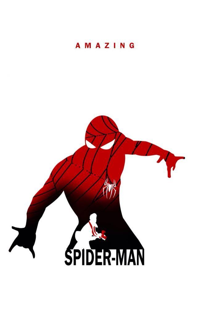 662x1024 Superhero Silhouette Spider Man Geek Central Comics