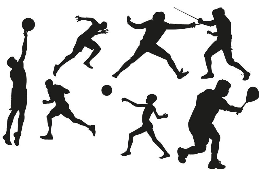 900x600 High School Sports Clipart