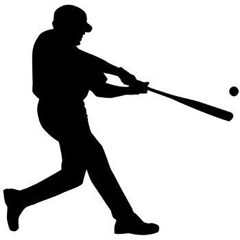 350x350 Baseball Wall Decal Sticker 21