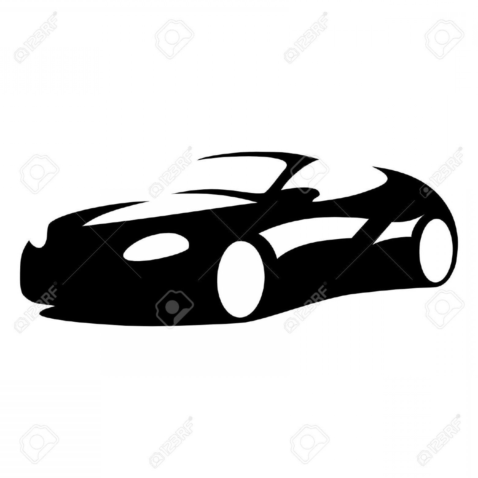 1560x1560 Car Silhouette Vector Art Lazttweet