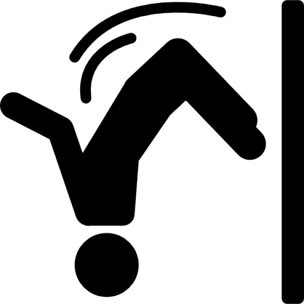 626x626 Parkour Extreme Sport Silhouette Icons Free Download