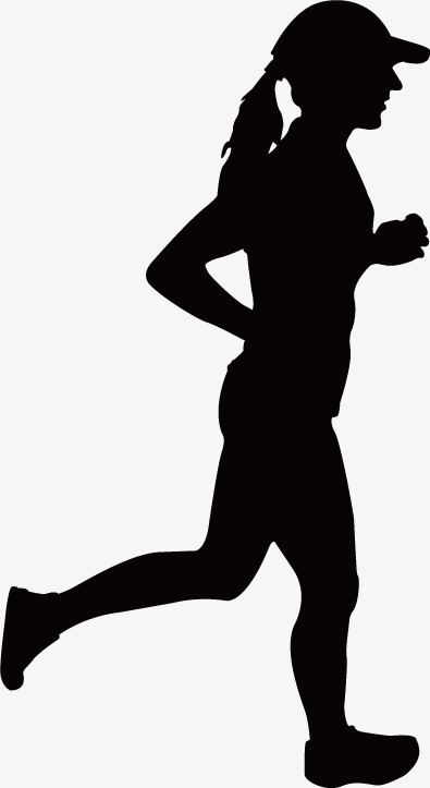 395x723 Sport Silhouette Figures, Graphic Design, Run, Fitness Png