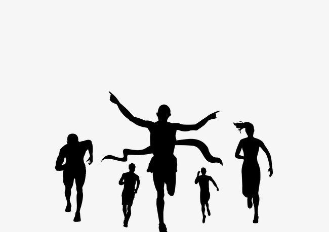 650x459 Sports Figures Silhouette Background, Sport Silhouette Figures