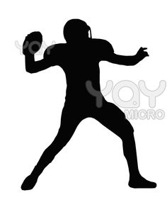 236x282 American Football Silhouette Silhouettes American