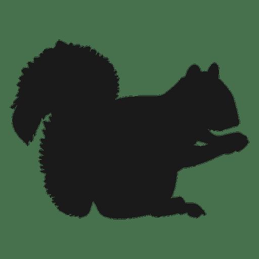 512x512 Squirrel Silhouette