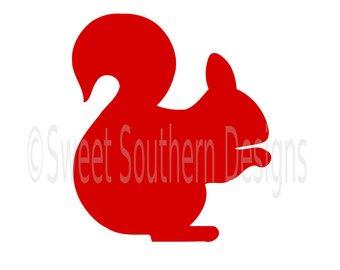 340x270 Squirrel Svg Etsy