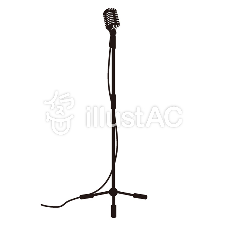750x750 Free Cliparts Silhouette, Microphone