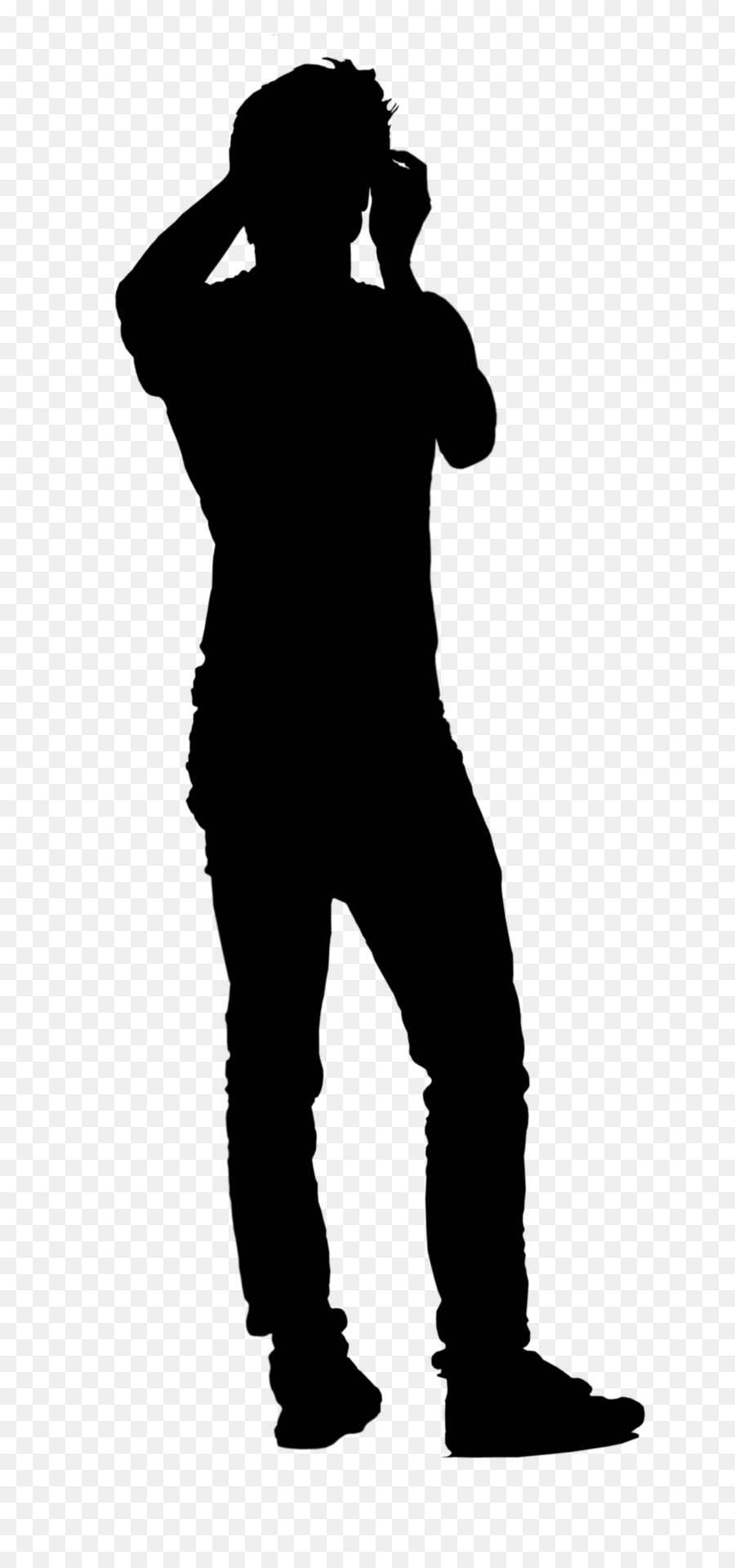 900x1920 Silhouette Person Clip Art