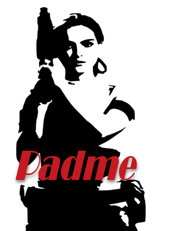 570x780 Star Wars Padme Svg Cut File For Cricut Or Silhouette