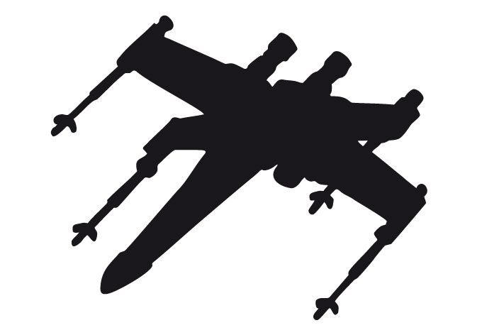 680x472 X Wing Silhouette